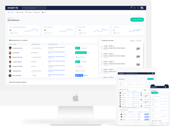 Exceptionly Software Talent Marketplace