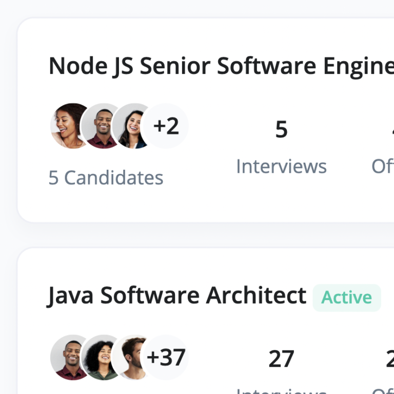 Openings, Candidates and Metrics On a Single Screen