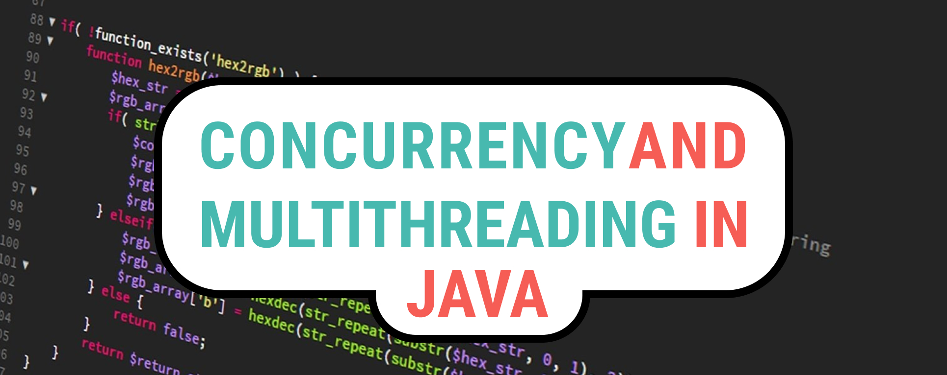 Concurrency and Multithreading in Java
